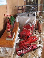 Toy firetrucks