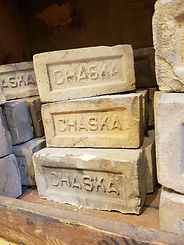 Distinctive yellow Chaska bricks