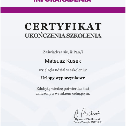 03 08 2021 - Urlopy pracownicze - Mateusz Kusek-1.jpg