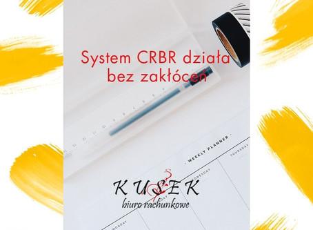 System CRBR działa bez zakłóceń. Termin zgłoszenia upływa 17 lipca