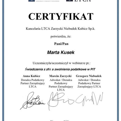 02 06 2021 - Świadczenia z zfśś a zwolnienia podatkowe w PIT - Marta Kusek.jpg