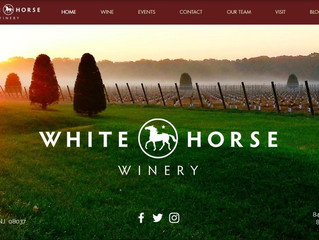 whitehorsewinery.com is up and running!