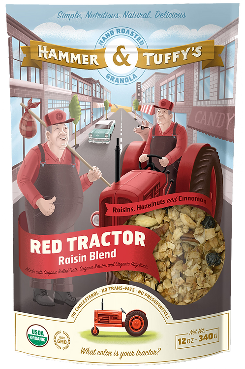Red Tractor Raisin Blend