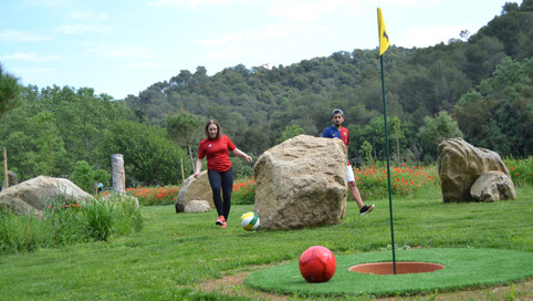 Football Golf Barcelona