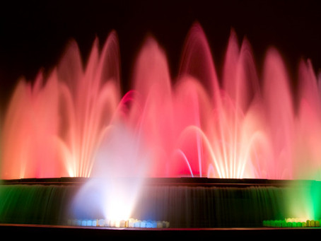 LifestyleDMC goes to The Magical Fountains of Monjuic Barcelona