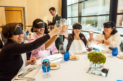 Blindfolded Lunch