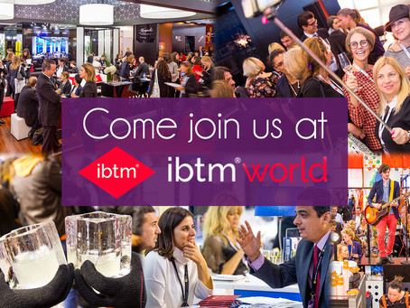 Come join us at ibtm world