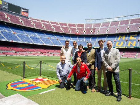 Lunch with  FC Barcelona´s Carlos Folguera to Discuss the Importance of Values and Leadership