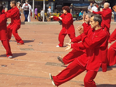 Group Tai Chi for Teambuilding