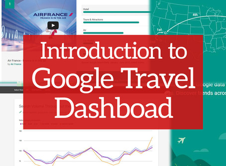 How can destination companies use Google's new Travel Dashboard?
