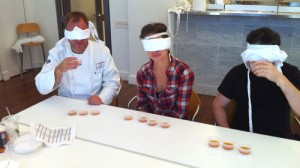 Blindfolded cooking Barcelona