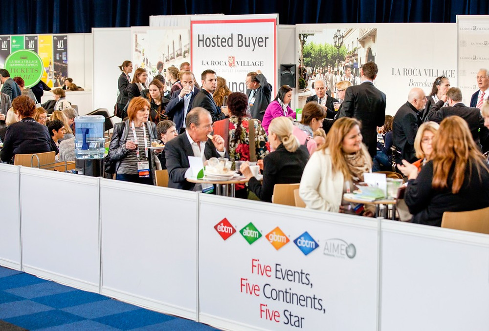 IBTM hosted buyer lounge