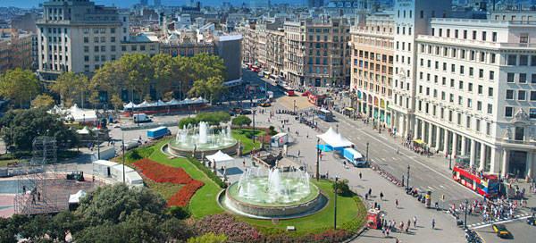 Image result for Plaça de Catalunya