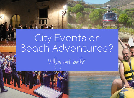 City events, beach adventures, or country escapes? …Why not all?