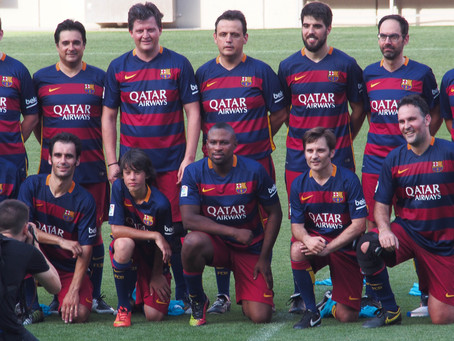 You Play at FC Barcelona – play a match at the Camp Nou