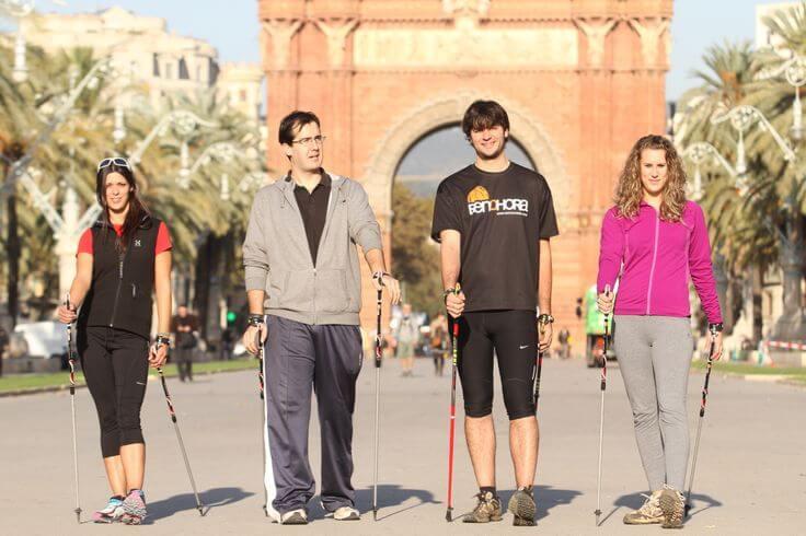 nordic walk barcelona