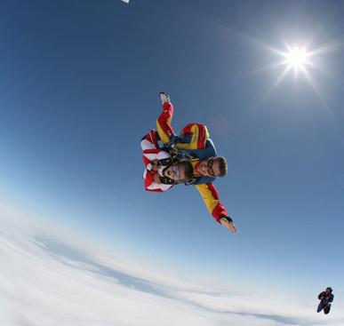 Freefall skydive