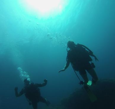 scuba diving costa brava