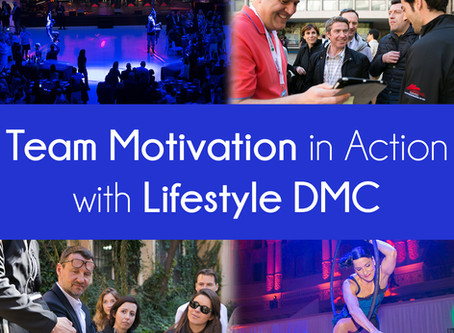 Team motivation in action in Barcelona with LifestyleDMC