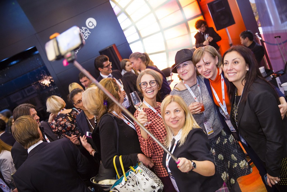 One of the networking events at ibtm