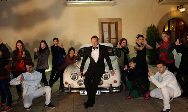 James Bond Flash Mob (professional photo