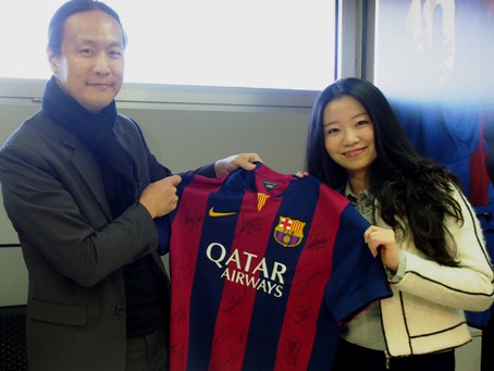 FCB Director Didac Lee meets with our Partners from Huawei