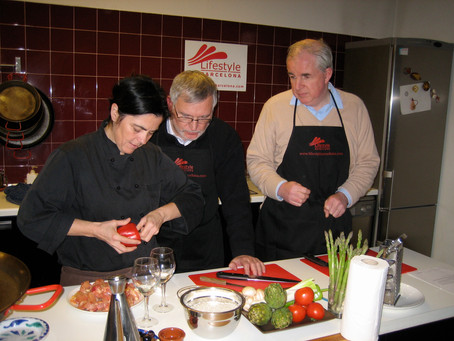 Leadership through Cooking in Barcelona
