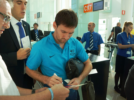Travel with the FC Barcelona Players… the season has begun!!!