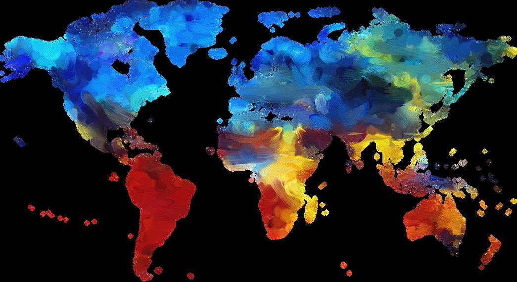 mapa del mudo