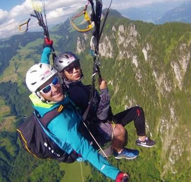 para gliding experience