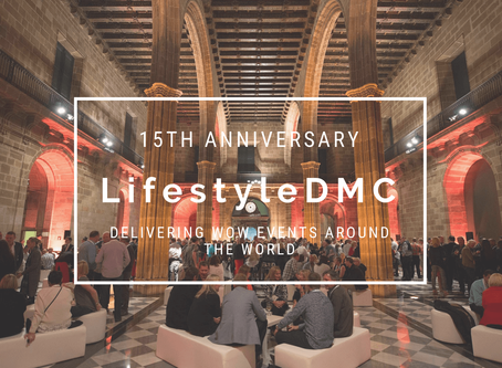 15 years, 1.500 events, 10.000 happy clients