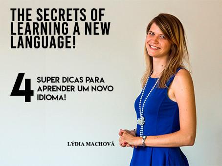 Qual o segredo para aprender um novo idioma?