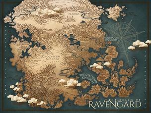custom dark fantasy map