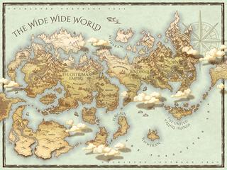 Hidden Falls World Map