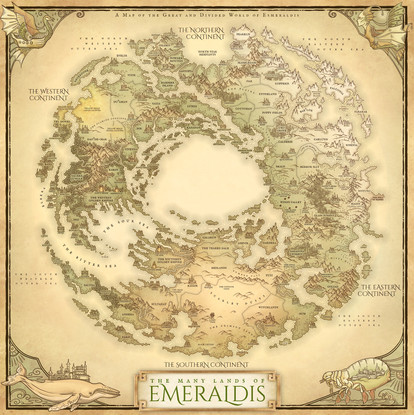Emeraldis World Map