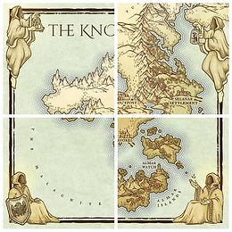 fantasy map border art