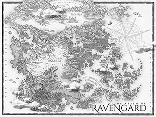 fantasy novel map
