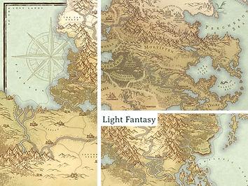 light fantasy map cartographybird