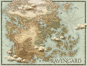 custom map for fiction novel