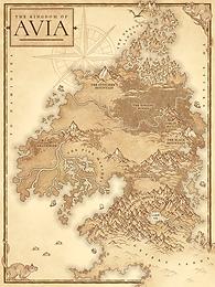 Custom Fictional Map