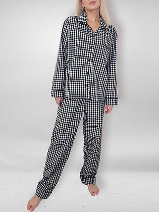 Пижама (рубашка + брюк +шорты)