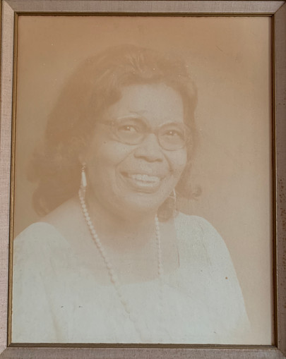 Mrs. Bertha James - Wife of Chester James Jr.