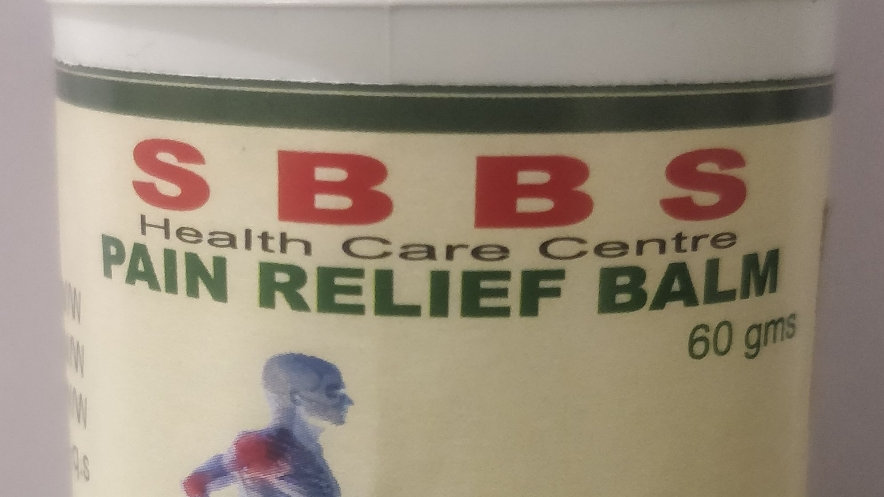 SBBS HEALTH CARE ( PAIN RELIEF BALM )