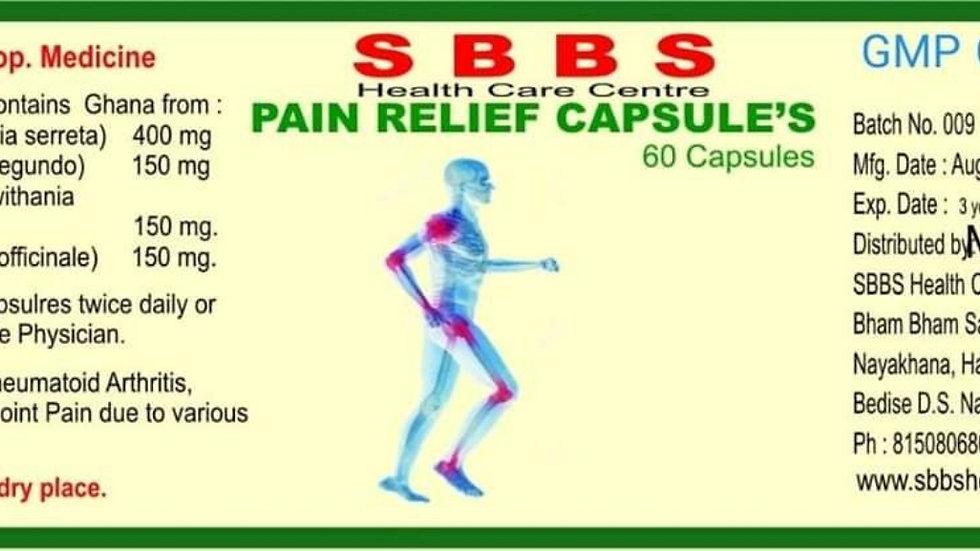 SBBS PAIN RELIEF CAPSULES