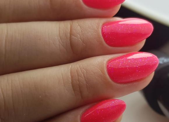 232 - Pink Flou Glitter