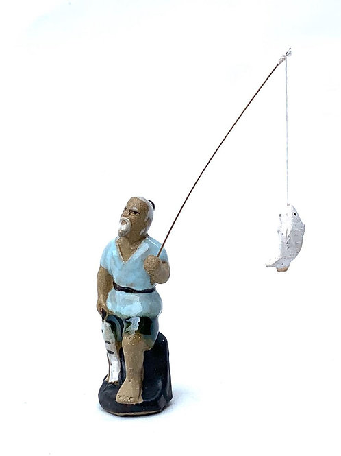 Miniatura Pescador Pequeño