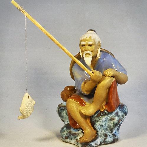 Miniatura Pescador