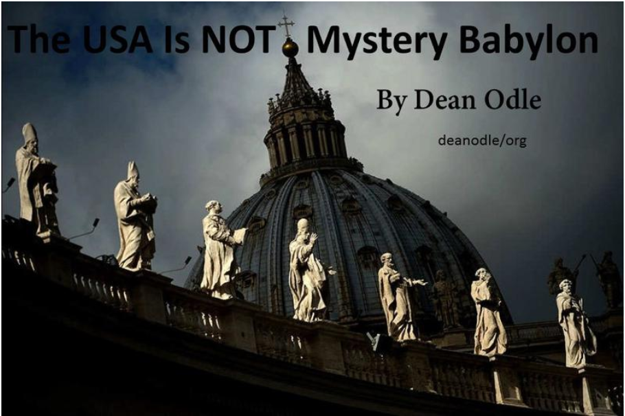 The USA is NOT Mystery Babylon