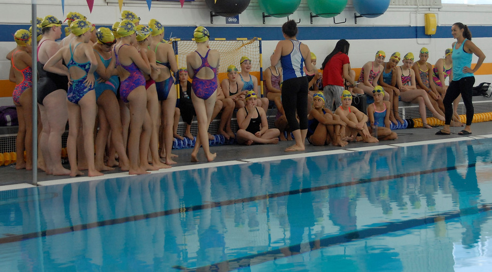 synchro summer camp