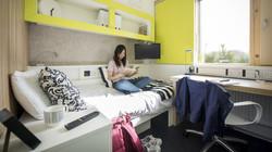 The Quads bedroom